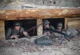 Umocnione stanowisko MG42.
